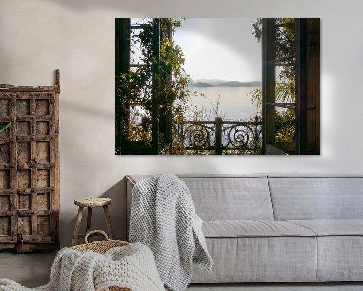 Sfeerimpressie: Kamer met Prachtig Uitzicht. van Roman Robroek