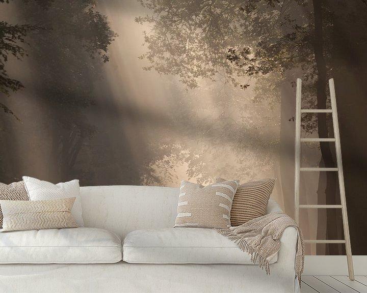 Sfeerimpressie behang: To the light... III van Anneke Hooijer