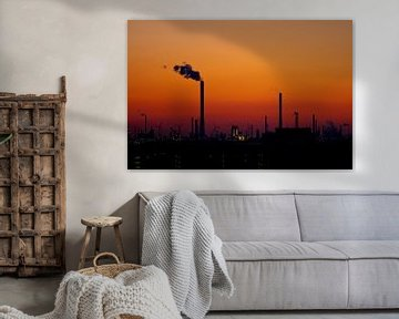 Industrial Sunset van Wilco Schippers