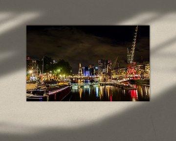 Rotterdam by night  von Tim Meijer