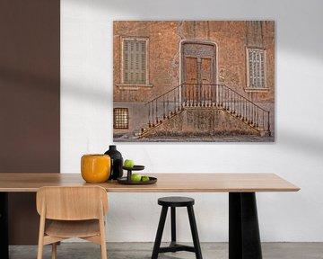 Treppe in st. Tropez von Ed Vroom