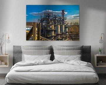 verlassene Industrie von Guy Riela