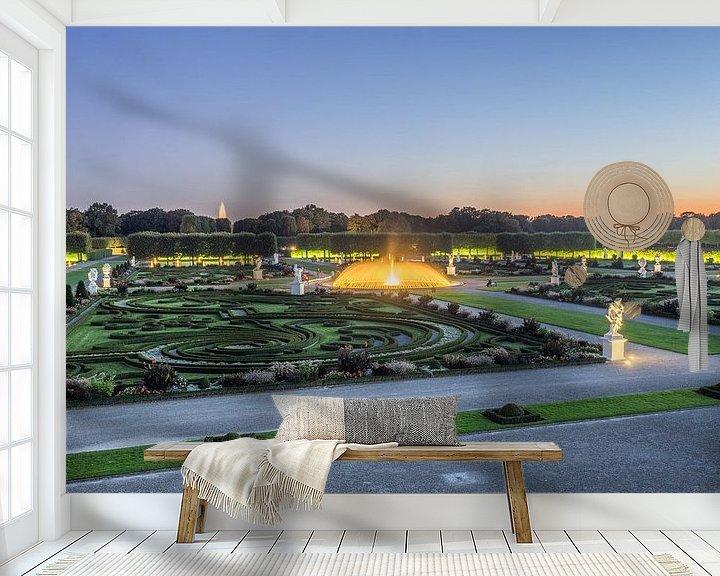 Sfeerimpressie behang: Herrenhäuser Gärten van Patrice von Collani