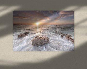 Golden Sunset van Sjaak den Breeje