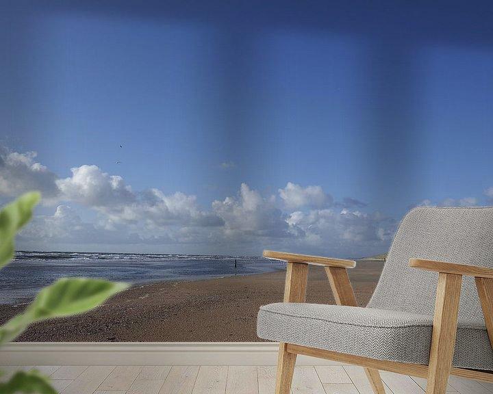 Beispiel fototapete: Meer und Wolken von Erik Reijnders