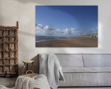 zee en wolken van Erik Reijnders