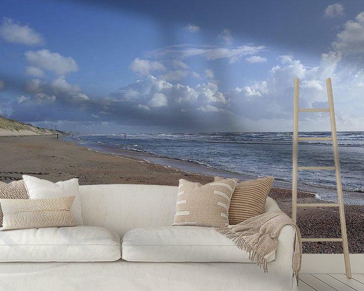 Beispiel fototapete: Wolken und Wasser von Erik Reijnders