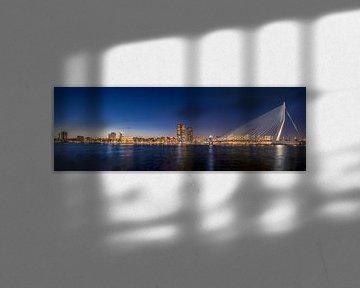 Panorama Rotterdam van Patrick Herzberg