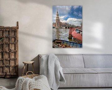 Schrott im Kanal von Foto Amsterdam / Peter Bartelings