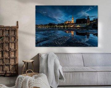 Regensburg am Abend van Tilo Grellmann | Photography