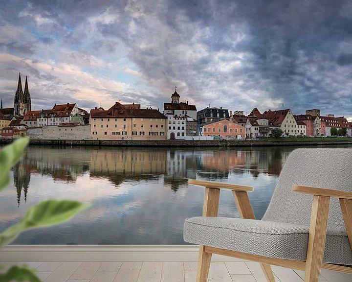 Beispiel fototapete: Regensburg Panorama von Tilo Grellmann | Photography