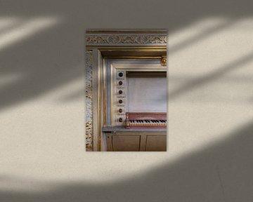 Orgel Laurenskerk Rotterdam van Annemiek van Eeden