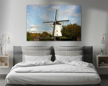 Oude windmolen van Marcel Rommens