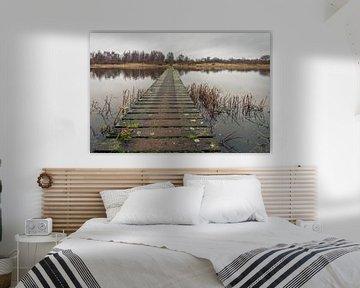 Lange Holzbrücke von Ruud Morijn