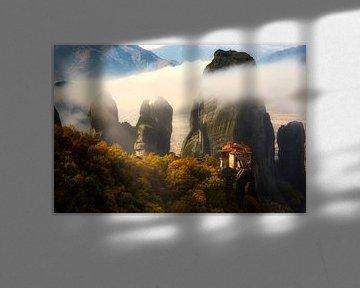 Misty Meteora von Konstantinos Lagos