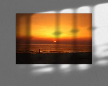 zonsondergang van Bri V beelen