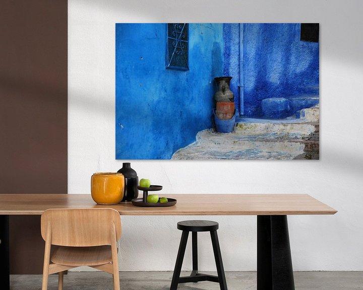 Sfeerimpressie: Marokko in blauw  - Chefchaouen van Homemade Photos