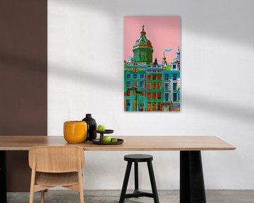 Colourful Amsterdam van Foto Amsterdam / Peter Bartelings