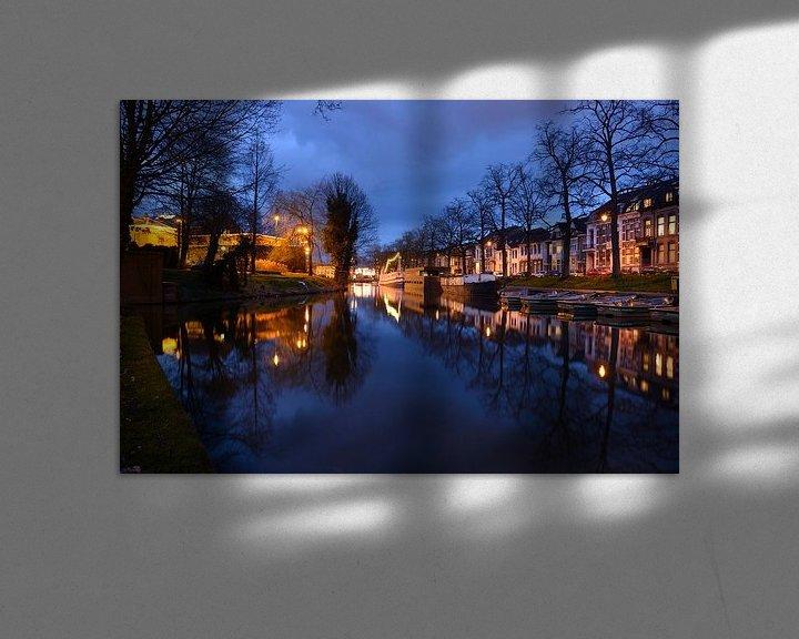 Sfeerimpressie: Wittevrouwensingel in Utrecht van Donker Utrecht