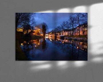 Wittevrouwensingel in Utrecht von Donker Utrecht