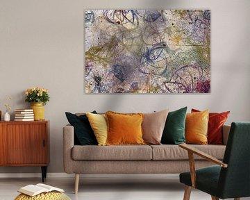 Fragmentation de couleur sur Rietje Bulthuis