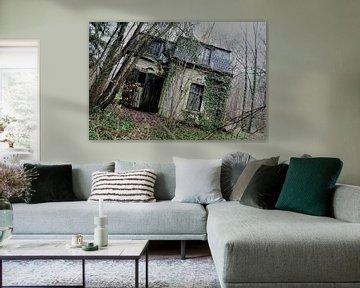 Verlaten garage von Esmeralda Van de Pol