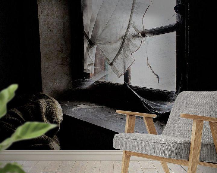 Beispiel fototapete: Window von Esmeralda Van de Pol