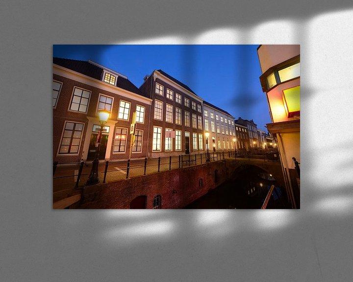Sfeerimpressie: Drift met universiteitsbibliotheek in Utrecht van Donker Utrecht
