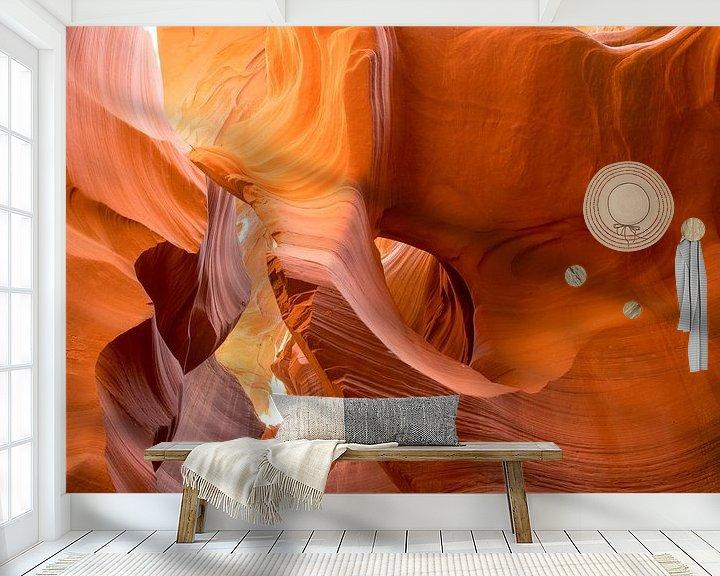 Sfeerimpressie behang: Antelope Lower Canyon 5 - Arizona  - USA van Danny Budts