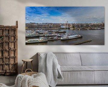 Die Stadt von Amsterdam von Hamperium Photography