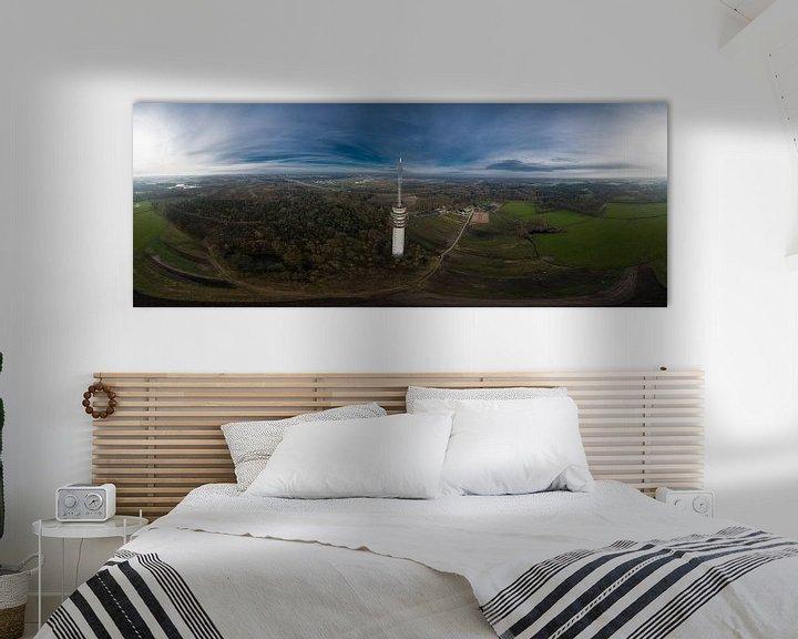 Sfeerimpressie: Zendmast Loon op Zand van Above The Grid