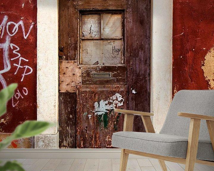 Beispiel fototapete: abandoned door 3 von Marc Lourens