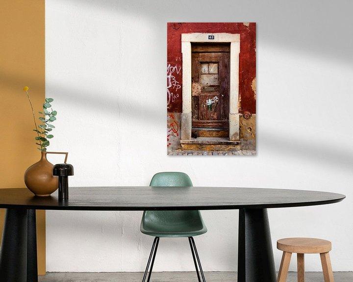 Beispiel: abandoned door 3 von Marc Lourens