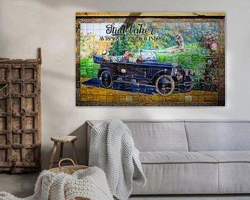 Studebaker-Wandgemälde von Vincent van Kooten