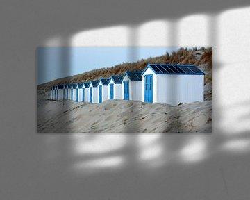 Strandhuisjes op Texel sur Ronald Timmer