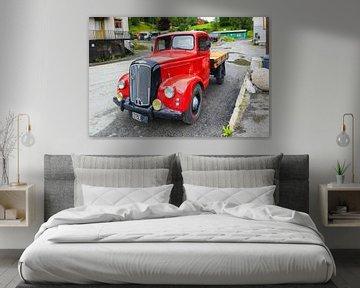 Oldtimer Morris Camion commercial sur Evert Jan Luchies