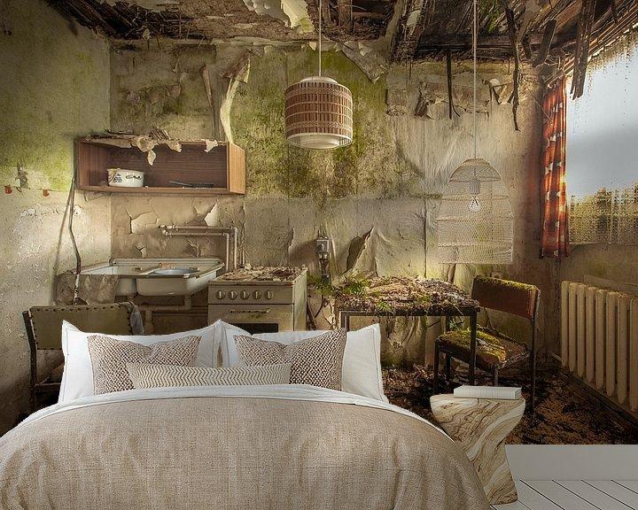 Sfeerimpressie behang: Hell's Kitchen van Olivier Photography