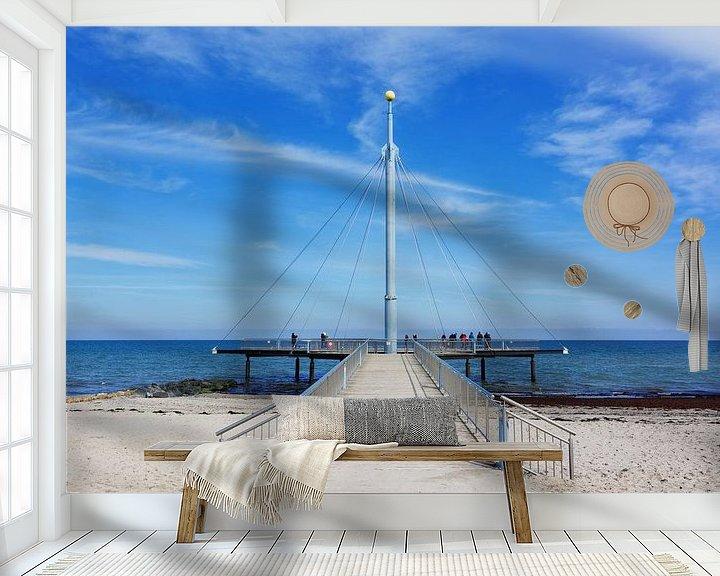 Impression: Le pont de la mer de Hohwacht sur Gisela Scheffbuch