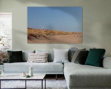 Lighthouse Texel. van Nicole van As