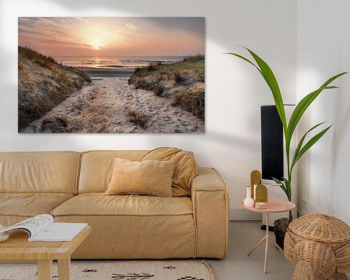 Sfeerimpressie: Texel strandopgang  van John Leeninga