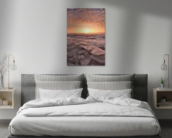 Sfeerimpressie: IJsschotsen IJsselmeer van John Leeninga