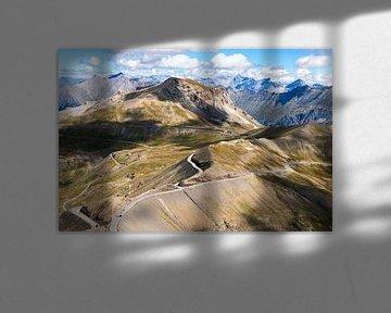 uitzicht vanaf de Col de la Bonette