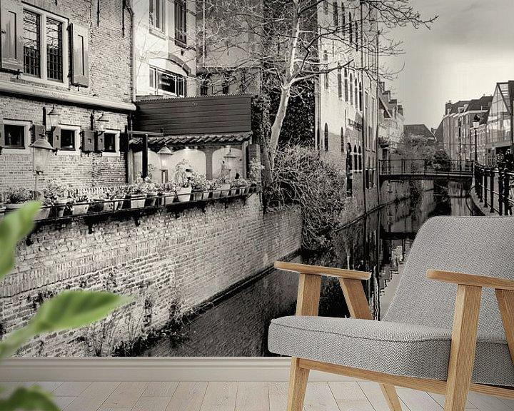 Sfeerimpressie behang: Historisch Amersfoort 11 van Rien Gieltjes
