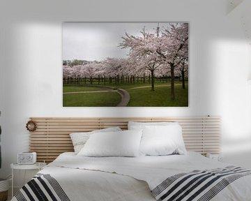 Blütenpark Amsterdamer Wald von Charlene van Koesveld