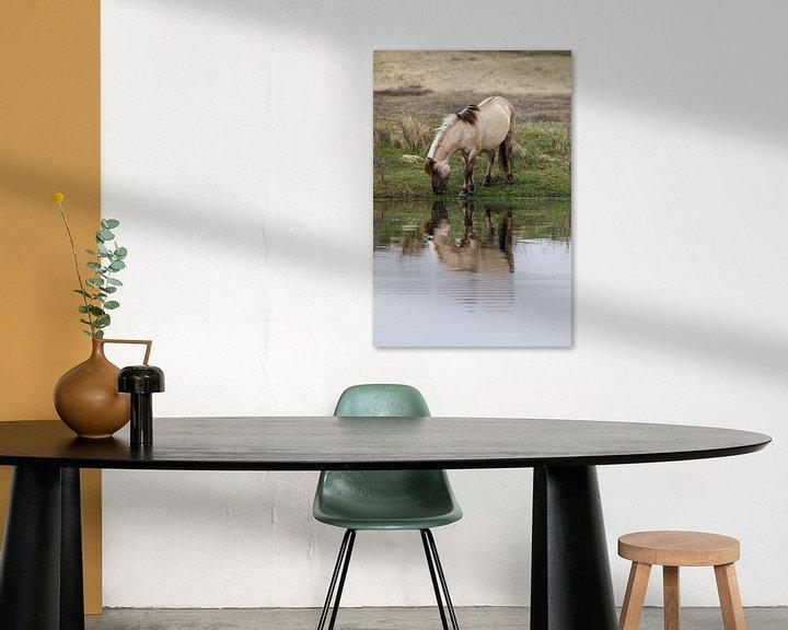 Sfeerimpressie: Konikpaard in Kennemerduinen  van Remco Bosshard