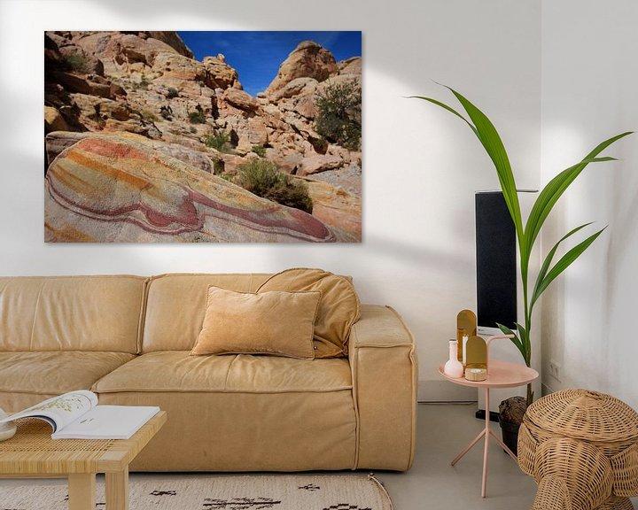Impression: Coloured rocks sur Louise Poortvliet