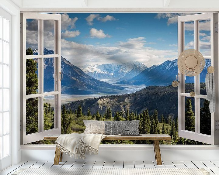 Sfeerimpressie behang: Alpenhotel van Co Seijn