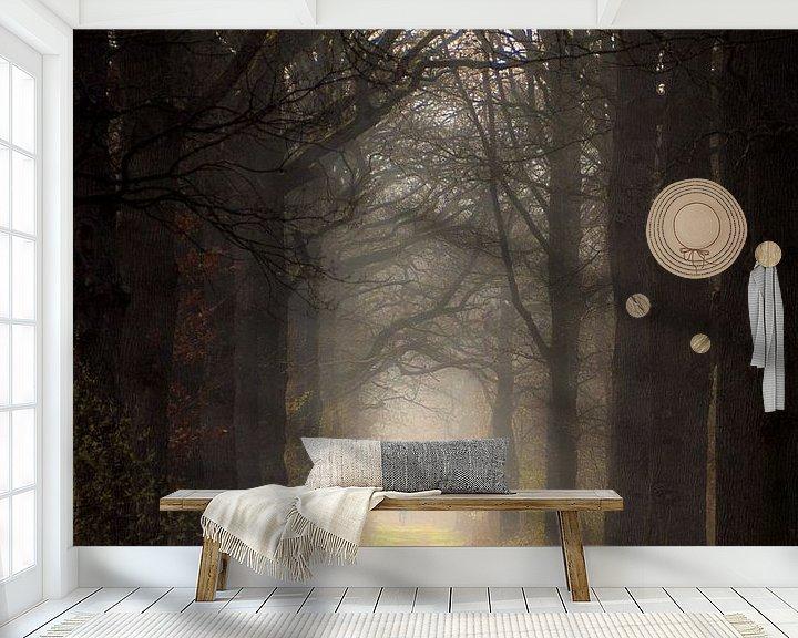 Sfeerimpressie behang: Sprookjesbos van Lex Schulte