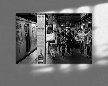 New York, Brooklyn, Subway Bedford von Ton deZwart