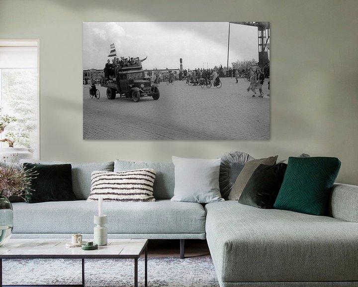 Sfeerimpressie: Amsterdam Duivendrecht, Bevrijding 8 mei van Ton deZwart